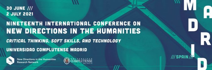 Nineteenth International Conference on New Directions in the Humanities